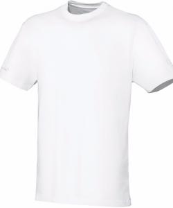 JAKO Team 6133M - T-Shirt Coton Homme Enfants Col Rond Plusieurs Couleurs Tailles Confortable Pratique Idéal Pour Loisir