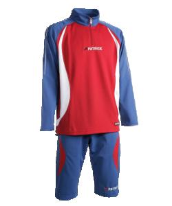 PATRICK MALAGA402 - Survêtement d'Entraînement Pull 1/4 Zippé et Pantalon 3/4 Homme Enfant Sport Football Plusieurs Couleurs Tailles