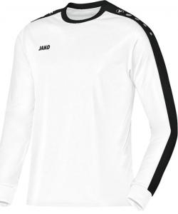 JAKO Striker 4306 - Maillot Manches Longues Homme Femme Enfants Équipe Col Rond Ripp Insertion Contrastante aux Épaules Plusieurs Couleurs Tailles