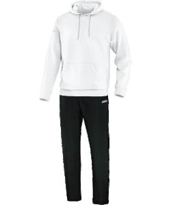 JAKO Team M9533M -  Survêtement Jogging Loisir avec Sweat à Capuchon Homme Enfants Poche Cousue Plusieurs Couleurs Tailles Bord Élastique avec Cordon de Serrage