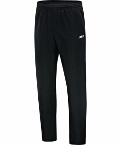 JAKO Classico 6550 - Pantalon Loisir Homme Enfants Doublure Mesh Plusieurs Couleurs Tailles Poches Latérales à Fermeture Éclair Bord Élastique