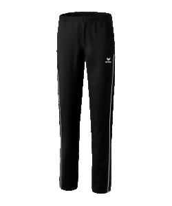 ERIMA 11007W Shooter 2.0 - Pantalon Polyester Dame Coupe Femme Spécifique Plusieurs Couleurs Tailles Poches Latérales Zippées Textile Stretch Cordon de Serrage