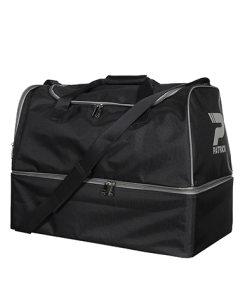 PATRICK PAT040 - Medium Soccer Bag in Black or Navy Very Functional Resistant With Rigid Compartment for Shoes Storage