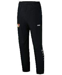 JAKO Bayer 04 Leverkusen BA6517 - Pantalon de Loisir Homme Enfant Poches et Finition des jambes à fermeture éclair Bord Élastique Cordon de Serrage Bicolore