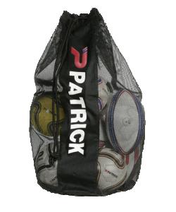 PATRICK GIRONA021 - Sac à Ballon en Noir en Polyester Capacité 10 Ballons pour Équipe Football ou Autres Sports