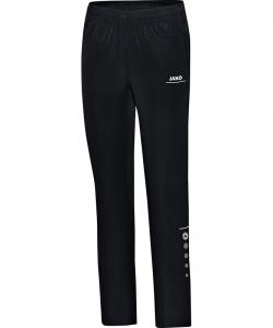 JAKO Striker 6516W - Pantalon de Loisir Femme Dames Poches et Finition des jambes à fermeture éclair Bord Élastique à Cordon de Serrage