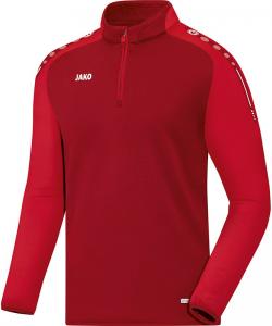 JAKO Champ 8617 - Ziptop Homme Enfants Plusieurs Couleurs Tailles Bord Finition Élastique Manches et Taille Fermeture Éclair 1/4 Avant