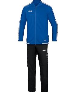 JAKO M9519 Striker 2.0 - Survêtement Loisir Hommes Coupe Sportive Plusieurs Couleurs Tailles Poches Latérales Zippées Rayures Contrastantes