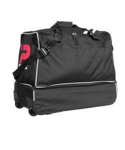 PATRICK GIRONA005 - Sac De Sport Basique  à Roulette Noir ou Bleu Marin Fonctionnel Résistant Avec Compartiment Rigide Rangement Chaussures