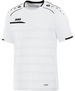 JAKO Prestige 6158 - T-Shirt Homme Coupe Sportive Col Moderne Plusieurs Couleurs Tailles Tape Contrastant dans le Cou Étiquette Performance