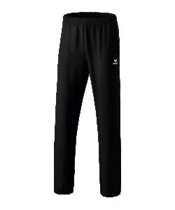 ERIMA 1100703 Miami 2.0 - Pantalon Présentation Homme Enfants Couleur Noir Plusieurs Tailles Poches Latérales à Fermeture Éclair Séchage Rapide