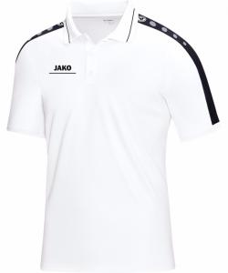 JAKO Striker 6316M - Polo T-Shirt Homme Enfants Col à Fermeture Boutonnée Plusieurs Couleurs Tailles Confortable Pratique