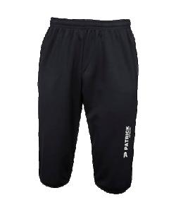 PATRICK PAT215 - Pantalon 3/4 d'Entraînement Noir ou Bleu Marin Homme Enfant Différentes Tailles Ceinture Élastiquée Idéal Pour le Sport en Été ou Printemps