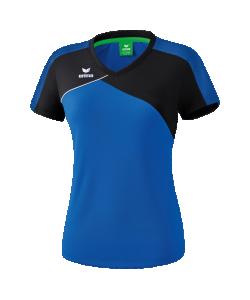 ERIMA 108181 Premium One 2.0 - T-Shirt Dames Coupe Femme Respirant Pour Jours Chauds Col Confortable Plusieurs Couleurs Tailles Grande Liberté de Mouvement