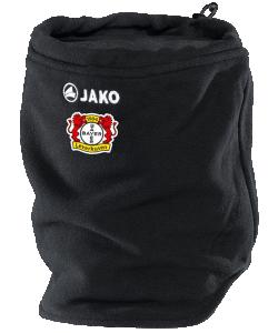 JAKO Bayer 04 Leverkusen BA1291 - Écharpe Cache-Cou Noir Homme Femme Enfants Taille Unisexe Indispensable en Hiver Pour Tous Sports d'Extérieur