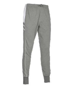 PATRICK IMPACT210 - Pantalon de Jogging en Coton Couleur Gris/Blanc Homme Enfant Taille Élastique Léger Souple Plusieurs Tailles
