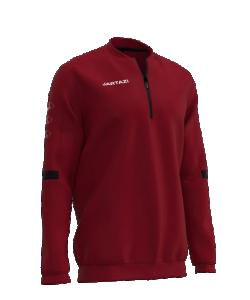 JARTAZI Roma 1112 - Sweater ZipTop Homme Enfants Plusieurs Couleurs Tailles Molletonné Col Rond Bord-Côtes
