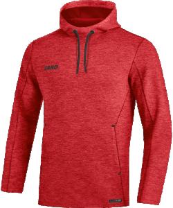 JAKO 6729M Premium Basics - Sweat à Capuchon Hommes Coupe Sportive Plusieurs Couleurs Tailles Poches Latérales Effet Mélange