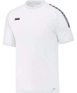 JAKO Champ 6117M - T-Shirt Homme Enfants Ouvertures de Ventilation Plusieurs Couleurs Tailles Manches avec Dessin Relief Col Bicolore Étiquette Performance