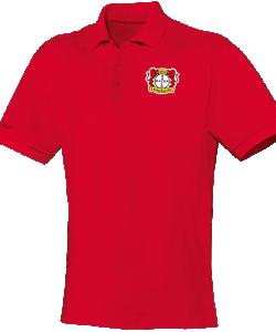 JAKO Bayer 04 Leverkusen BA6333 - Polo T-Shirt Team Homme Enfants Col à Fermeture Boutonnée Plusieurs Couleurs Tailles Idéal Pour Loisir