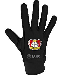 JAKO Bayer 04 Leverkusen BA2588 - Gants Fonctionnels Homme Femme Enfant Couleur Noir Plusieurs Tailles Points en Silicone sur Doigts