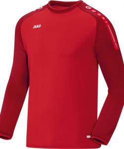 JAKO Champ 8817 - Sweater Homme Enfants Plusieurs Couleurs Tailles Bord Finition Élastique Manches et Taille Col Bicolore Étiquette Performance