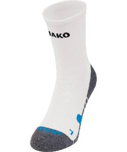 JAKO 3911 - Chaussettes Entraînement Homme Femme Plusieurs Couleurs Tailles Bord Confortable Pied de Forme Anatomique Semelle Rembourrée avec Coton