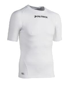 PATRICK CADIZ101 - T-Shirt Moulant Courtes Manches Couleur Blanc Pour Homme Idéal Pour Sport Football Plusieurs Tailles