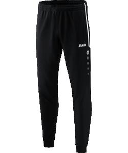 JAKO 9218 Competition 2.0 - Pantalon Polyester Homme Enfants Plusieurs Couleurs Tailles Bord Élastique à Cordon de Serrage Poches Latérales Zippées