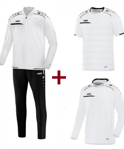 JAKO Prestige EO10058 Training Kit - Tracksuit - Hooded Sweatshirt - T-Shirt - For Men Several Colors Sizes Sporty Cut
