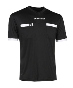 PATRICK REF101 - Soccer Referee Jersey Short Sleeves Men Women Football Chest Pockets Several Colors Sizes Super Dry Technologies