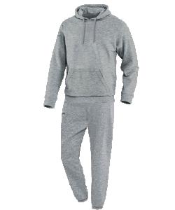 JAKO Team M9433 - Survêtement Jogging avec Sweat à Capuchon Homme Enfants Coutures Flatlock Plusieurs Couleurs Tailles Bord Élastique avec Cordon de Serrage