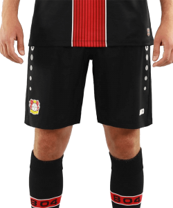 JAKO Bayer 04 Leverkusen BA4418H - Shorts Home 2018-2019 Men Kids Several Sizes Color Black Keep Dry