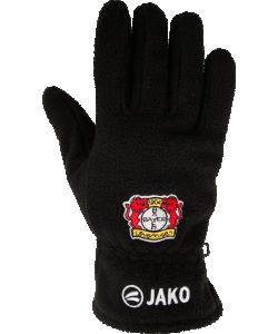 JAKO Bayer 04 Leverkusen BA2587 - Gants Polaire Homme Femme Enfant Couleur Noir Plusieurs Tailles Logo Brodé