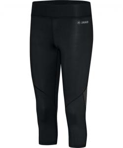 JAKO 6712 - Leggings Sport Capri Move Femme Dames Plusieurs Couleurs Tailles Bord Extra Large Confortable Insertions Élastiques en Mesh