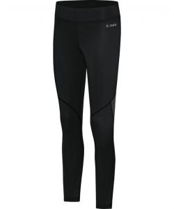 JAKO 6612 - Leggings Move Couleur Noir Femme Dames Plusieurs Tailles Bord Extra Large Confortable Insertions Élastiques en Mesh
