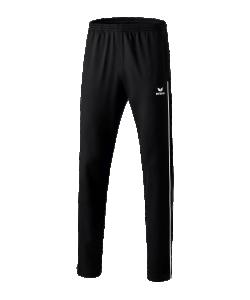 ERIMA 11007 Shooter 2.0 - Pantalon Polyester Homme Enfants Plusieurs Couleurs Tailles Ourlet à Fermeture Éclair Latérale Poches Latérales Textile Stretch