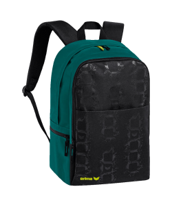 ERIMA 72358 Graffic 5-C - Versatile Stylish Backpack Quilted Braces Several Colors Standard Size Trendy 5-Cubes Zipped Side Pockets