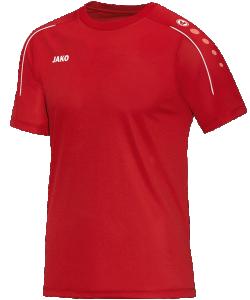 JAKO Classico 6150 - T-Shirt Homme Enfants Col Rond en Ripp Plusieurs Couleurs Tailles Haute Performance Bonne Qualité