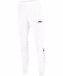 JAKO Striker 9216 - Pantalon Polyester Homme Enfant Poches Latérales Finition Jambe en Ripp à Fermeture Éclair Bord Élastique Cordon de Serrage