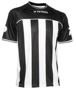 PATRICK CORUNA105 - Maillot de Football à Rayures Courtes Manches Séchage Rapide Homme Femme Enfant Plusieurs Couleurs Tailles