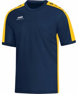 JAKO Striker 6116M - T-Shirt Homme Enfants Col Rond en Ripp Plusieurs Couleurs Tailles Haute Performance Confortable