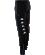 KAPPA Taverno 303X5V0 - Pantalon Polyester Homme Adulte Plusieurs Couleurs Tailles Omini Imprimé sur Jambes Bas Zippées Piping Contrasté