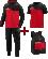 JAKO EOS10018 Competition 2.0 - Pack Entraînement Optimal - Survêtement Polyester à Capuchon - T-Shirt - Sac à Dos - Plusieurs Couleurs Tailles