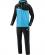 JAKO M9618 Competition 2.0 - Survêtement Loisir à Capuchon Homme Enfants Plusieurs Couleurs Tailles Insertion Contrastante Col et Manches Micro-Polaire à l'intérieur Poches Latérales à Fermeture Éclair