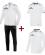 JAKO Prestige EO10058 Pack Entraînement - Survêtement - Sweater à Capuchon - T-Shirt - Homme Plusieurs Couleurs Tailles Coupe Sportive