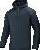 JAKO 7205 - Veste Hiver Homme Résistant Vent et Pluie Plusieurs Tailles Couleurs Poches Latérales Zippées Capuchon Réglable Coupe Droite