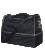 PATRICK PAT040 - Sac de Foot Moyen en Noir ou Bleu Marin Très Fonctionnel Résistant avec Compartiment Rigide Rangement Chaussures