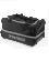 PATRICK PAT045 - Sac de Sportà Roulette Noir ou Bleu Marin Fonctionnel Résistant avec Compartiment Rigide Idéal pour Rangement Chaussures