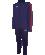 KAPPA Salcito 304IP10 - Survêtement Sortie Homme Enfants Col Montant Plusieurs Couleurs Tailles Poches Latérales Zippées Empiècement Mesh Contrasté sur Manches